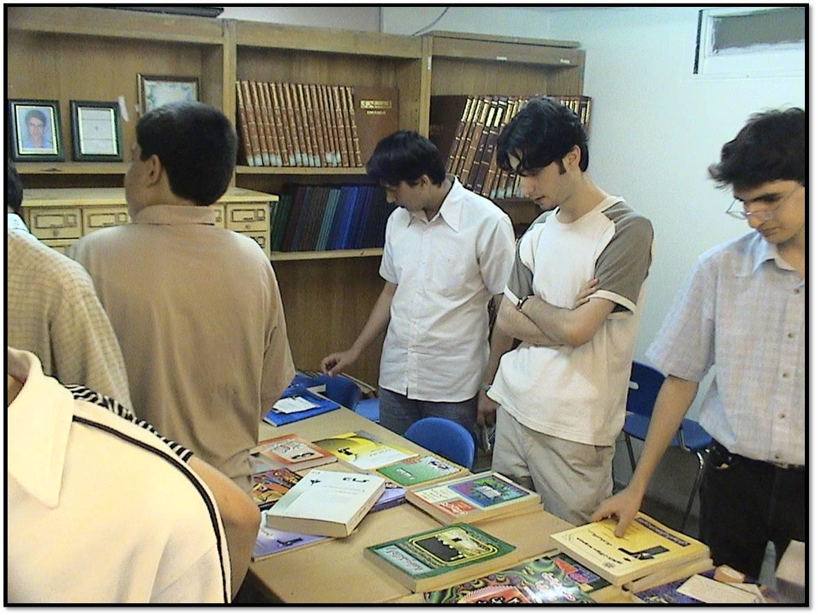 نمایشگاه کتاب فارغ التحصیلان